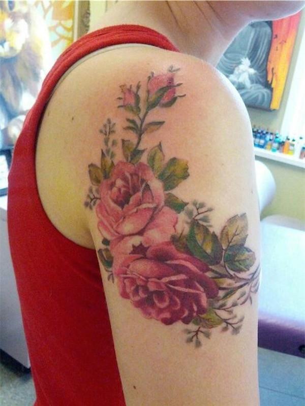 Lovely Flower Tattoo Ideas 56