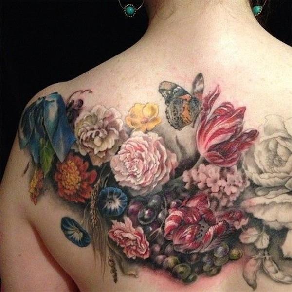 Lovely Flower Tattoo Ideas 59