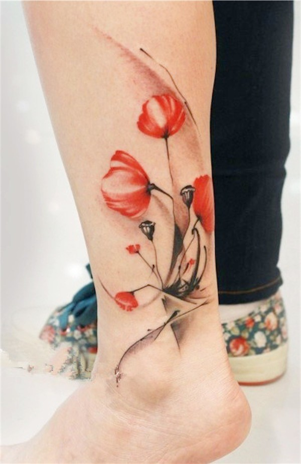 Lovely Flower Tattoo Ideas 60