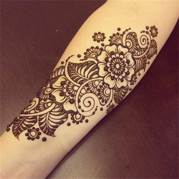 Lovely Flower Tattoo Ideas 61