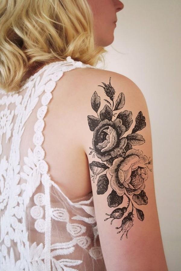Lovely Flower Tattoo Ideas 65