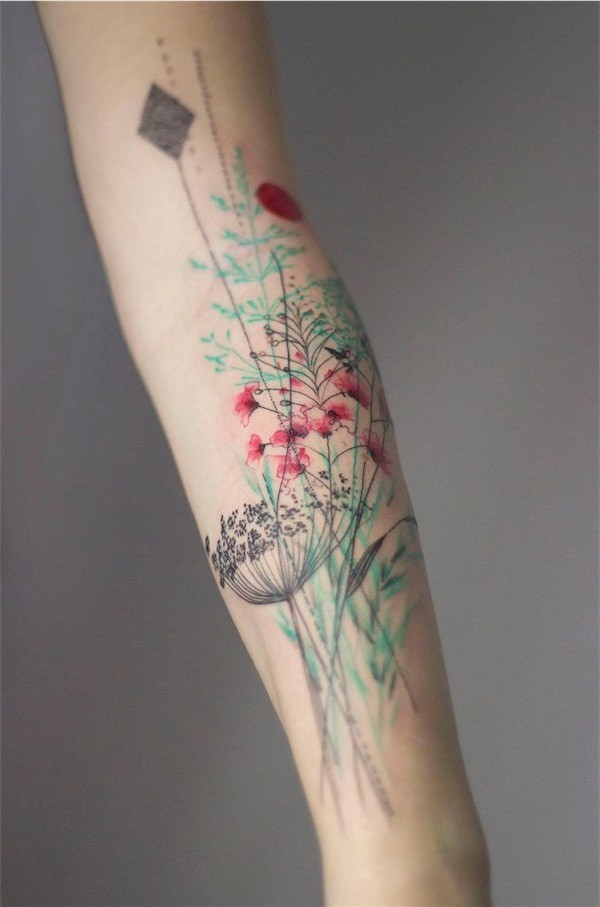 Lovely Flower Tattoo Ideas 67