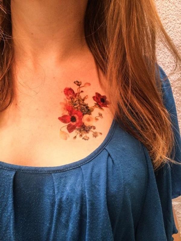 Lovely Flower Tattoo Ideas 72