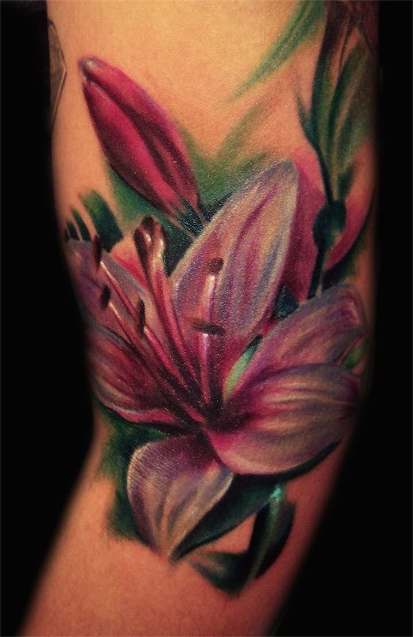 Lovely Flower Tattoo Ideas 75