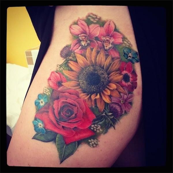 Lovely Flower Tattoo Ideas 76