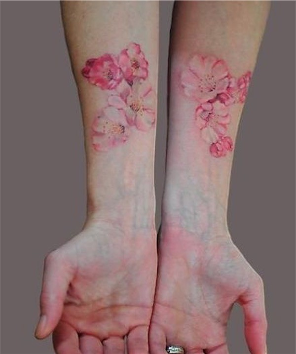 Lovely Flower Tattoo Ideas 78