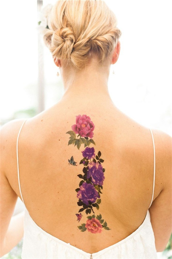 Lovely Flower Tattoo Ideas 8