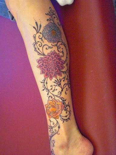 Lovely Flower Tattoo Ideas 83