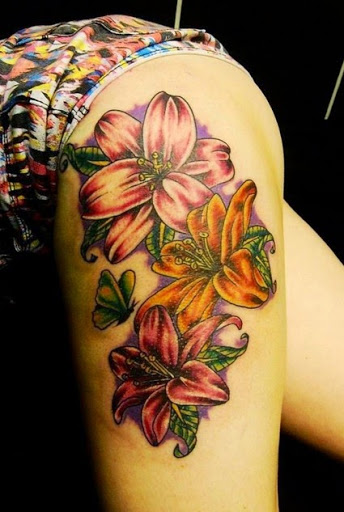 Lovely Flower Tattoo Ideas 85