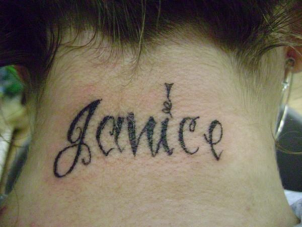 Neck Tattoo Designs For Male And Female 22