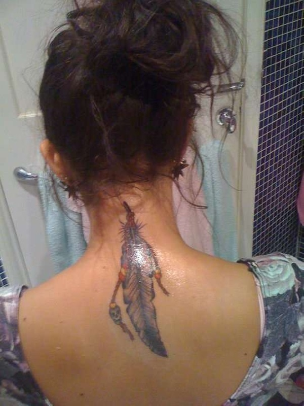 Neck Tattoo Designs For Male And Female 25