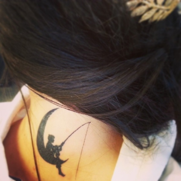 Neck Tattoo Designs For Male And Female 27