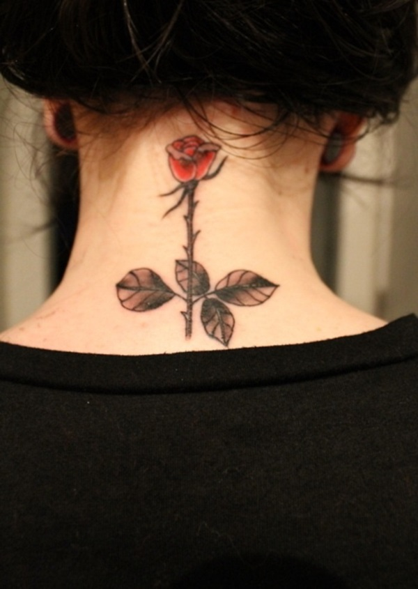 Neck Tattoo Designs For Male And Female 31