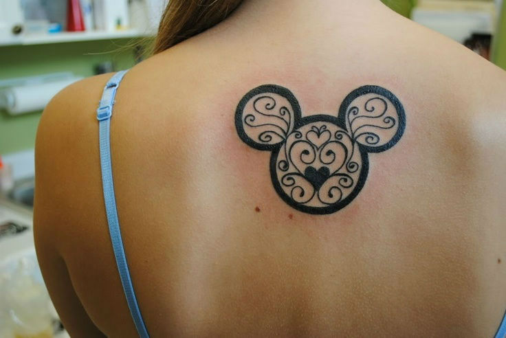Upper Back Tattoos for Women 10