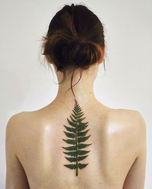 Upper Back Tattoos for Women 20