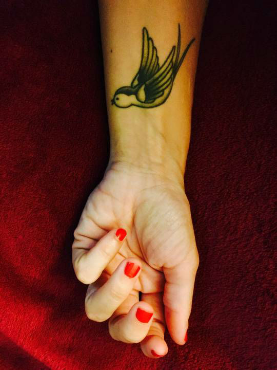 Wonderful Swallow Tattoo Designs 9