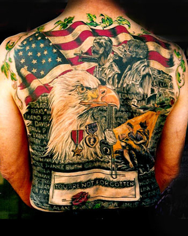 American Tattoo Design and Ideas 1
