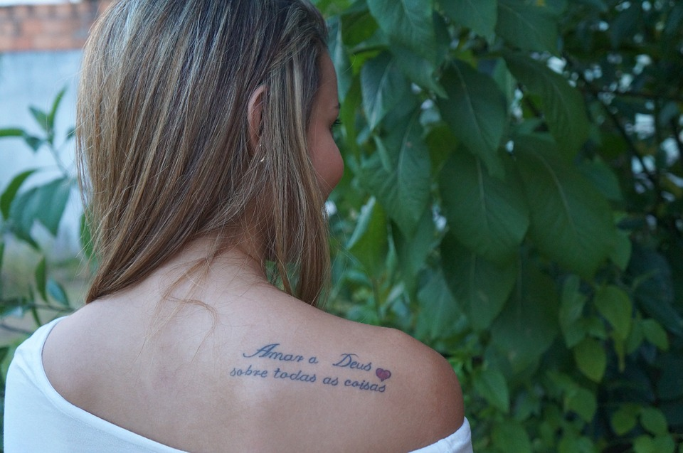 Appealing Tattoos for Women 100