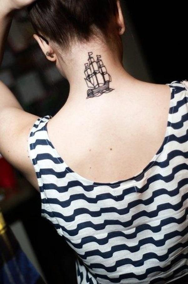 Boat Tattoo Designs 14