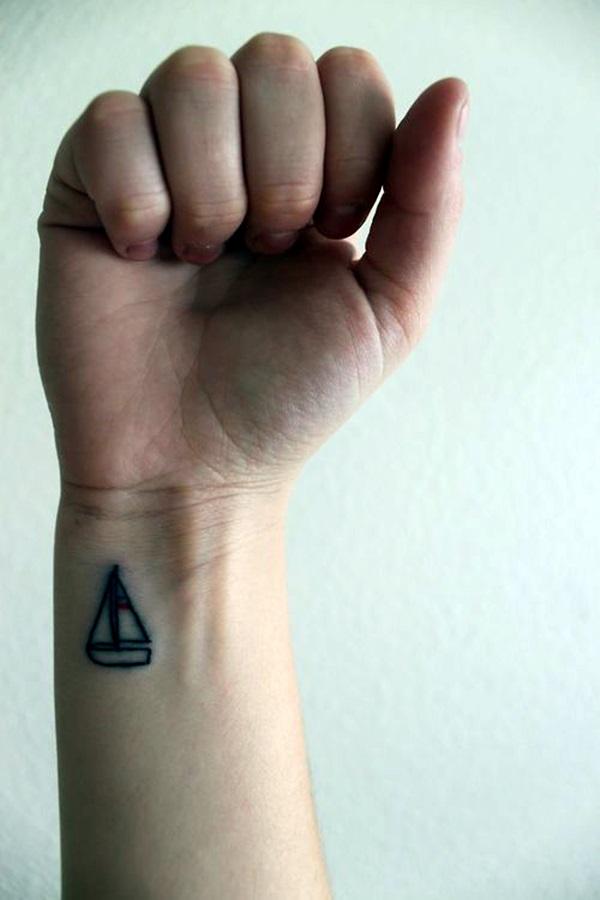 Boat Tattoo Designs 15