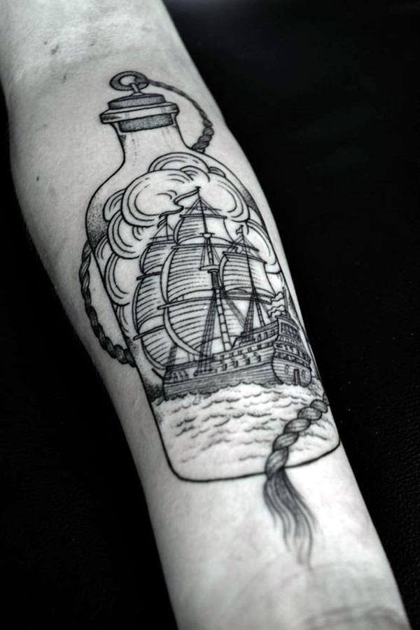 Boat Tattoo Designs 2