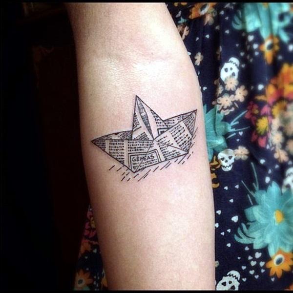 Boat Tattoo Designs 39