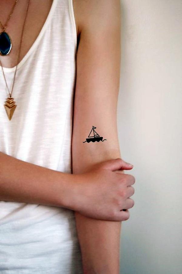 Boat Tattoo Designs 41