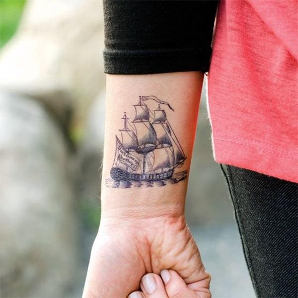 Boat Tattoo Designs 45