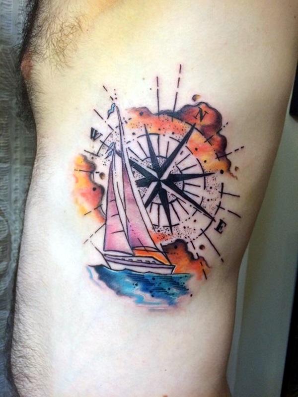 Boat Tattoo Designs 47