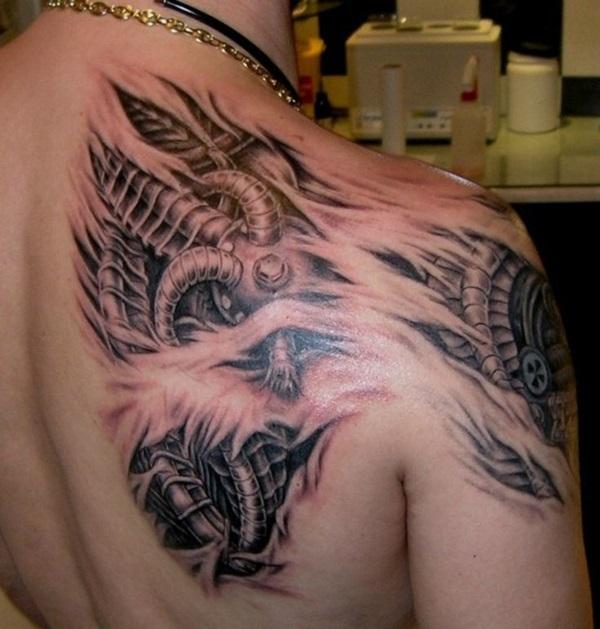 Insane Mechanics Tattoo Designs 15
