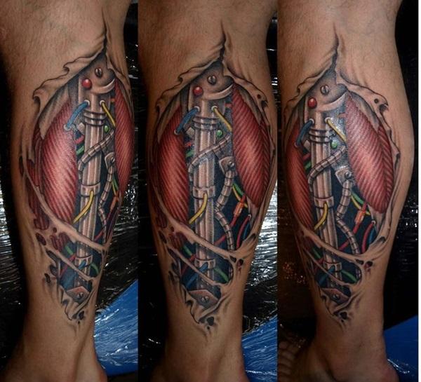 Insane Mechanics Tattoo Designs 18