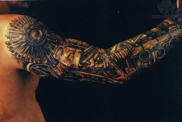 Insane Mechanics Tattoo Designs 20