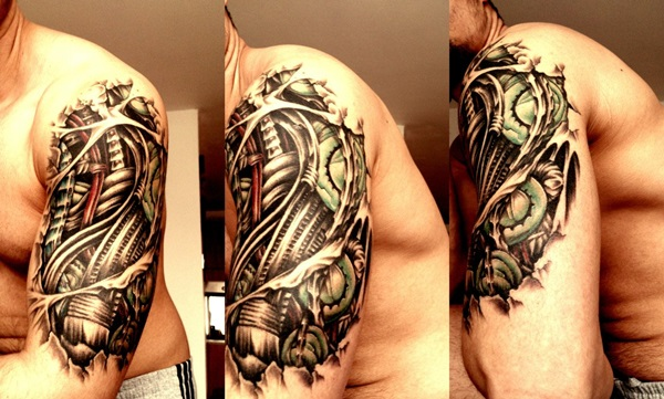 Insane Mechanics Tattoo Designs 22