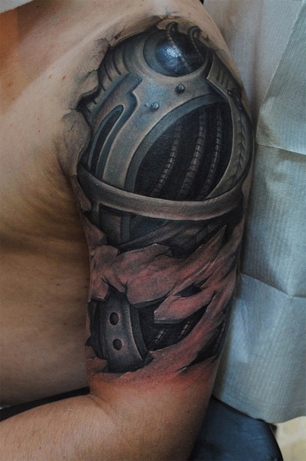 Insane Mechanics Tattoo Designs 25