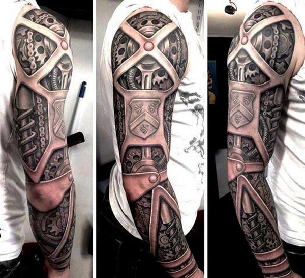 Insane Mechanics Tattoo Designs 26