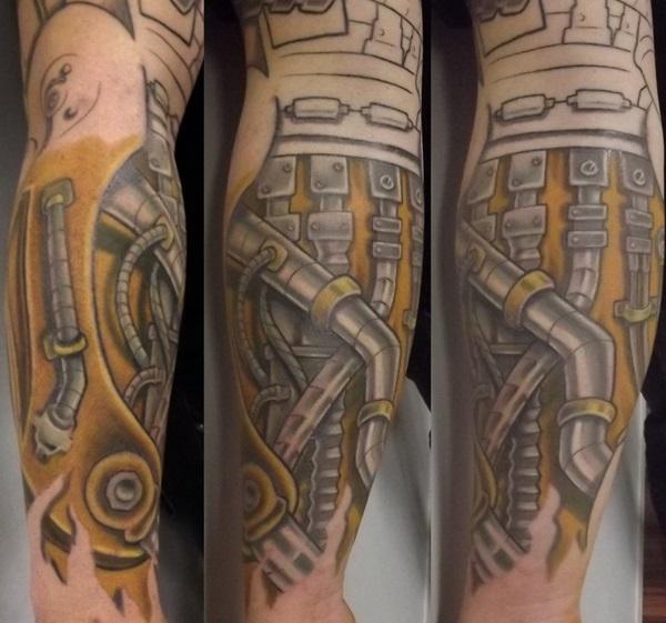 Insane Mechanics Tattoo Designs 3