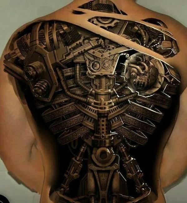 Insane Mechanics Tattoo Designs 31