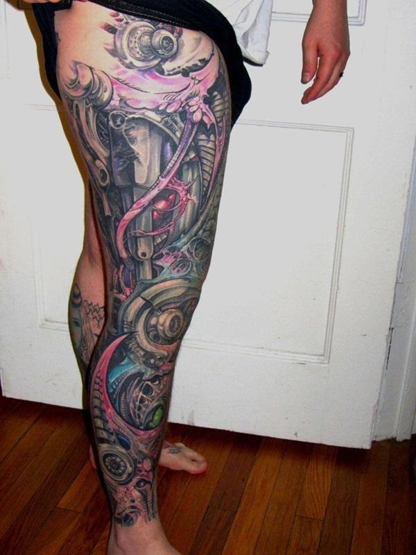 Insane Mechanics Tattoo Designs 36