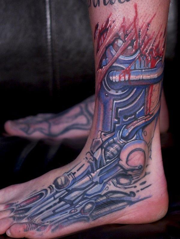 Insane Mechanics Tattoo Designs 37