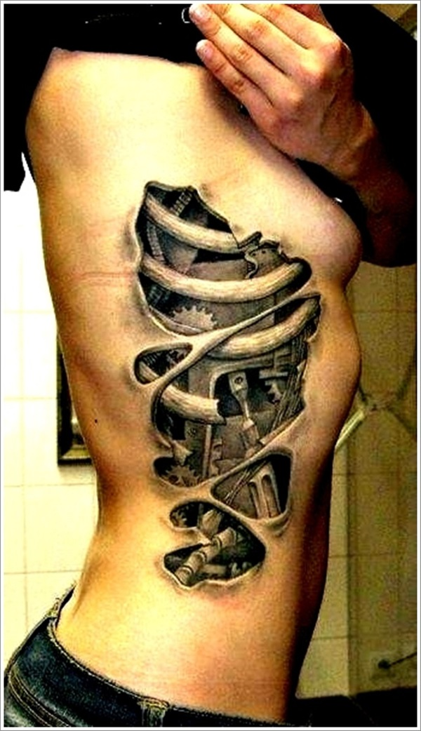 Insane Mechanics Tattoo Designs 7