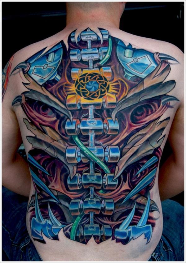 Insane Mechanics Tattoo Designs 8