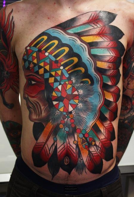 Native American Tattoo Design 1