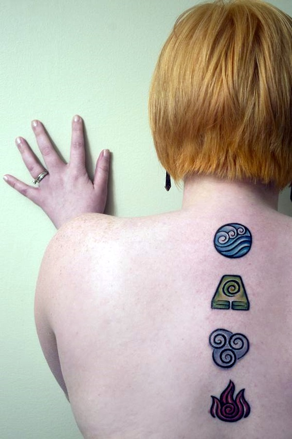 Perfect Elemental Tattoo Ideas 36