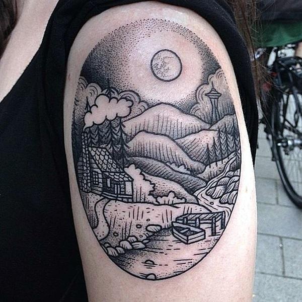 Perfect Elemental Tattoo Ideas 4