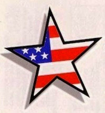 Star American Tattoo Design and Ideas