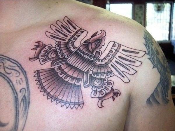 Aztec Tattoo Designs 1