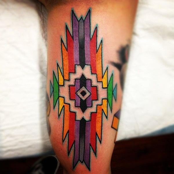Aztec Tattoo Designs 17