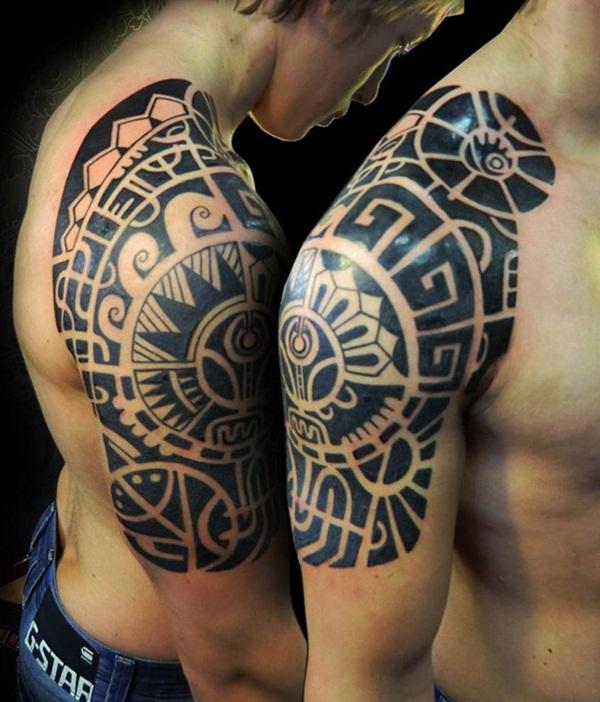 Aztec Tattoo Designs 25
