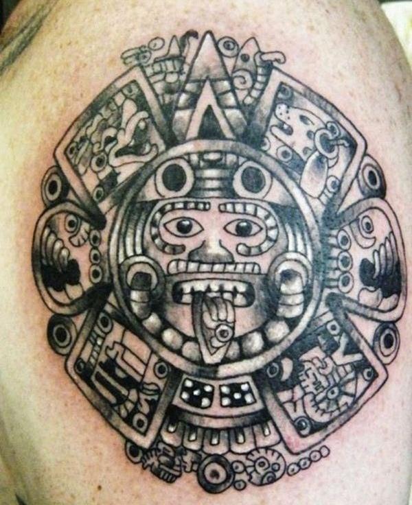 Aztec Tattoo Designs 3