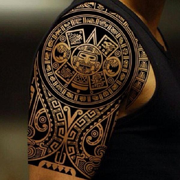 Aztec Tattoo Designs 30